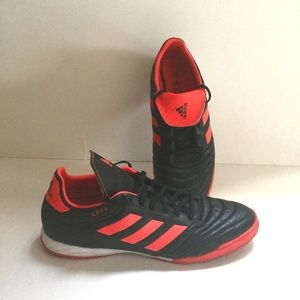 big sale d7448 72c56 Adidas Copa 17.3 Orange and Black Soccer Shoe